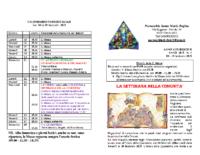 bollettino parrocchiale 04-02-2018 18-02-2018