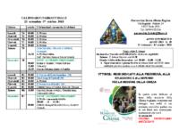 bollettino parrocchiale 23-09-2018 07-10-2018