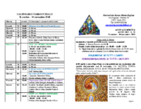 bollettino parrocchiale 21-10-2018 04-11-2018