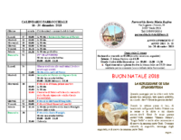 bollettino parrocchiale 16-12-2018 30-12-2018