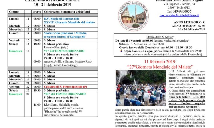 thumbnail of bollettino parrocchiale 10-02-2019 24-02-2019