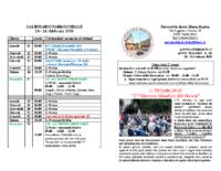 bollettino parrocchiale 10-02-2019 24-02-2019