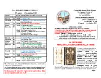 bollettino parrocchiale 25-08-2019 15-09-2019