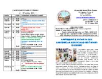 bollettino parrocchiale 13-10-2019 27-10-2019