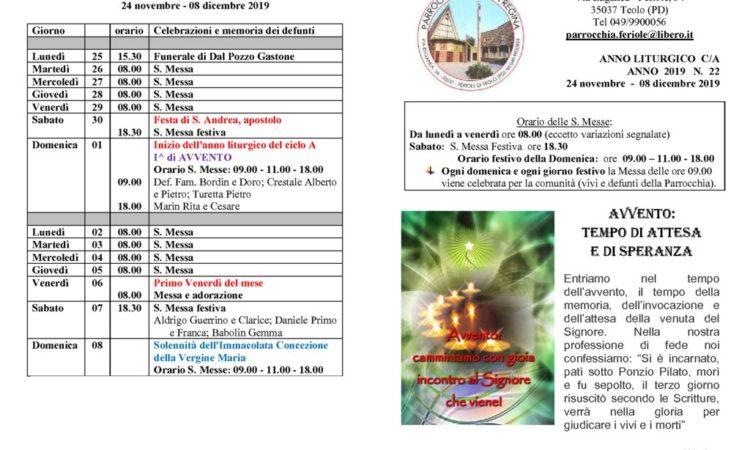 thumbnail of bollettino parrocchiale 24-11-2019 08-12-2019