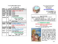 bollettino parrocchiale 02-02-2020 16-02-2020