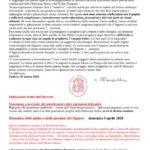 thumbnail of Decreto per le celebrazioni straordinarie della settimana santa e il triduo pasquale 2020