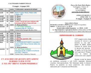 thumbnail of bollettino parrocchiale 31-05-2020 14-06-2020