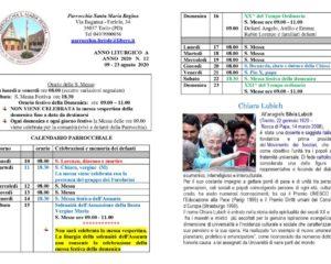 thumbnail of bollettino parrocchiale 09-08-2020 23-08-2020