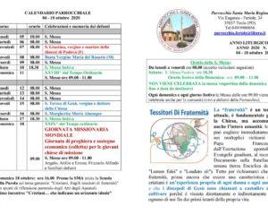 thumbnail of bollettino parrocchiale 04-10-2020 18-10-2020