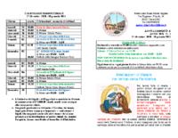 bollettino parrocchiale 27-12-2020 10-01-2021