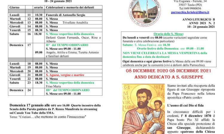 thumbnail of bollettino parrocchiale 10-01-2021 24-01-2021