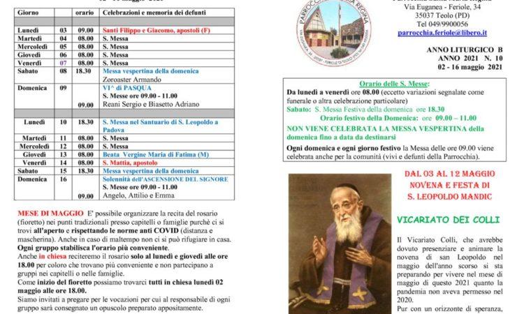 thumbnail of bollettino parrocchiale 02-05-2021 16-05-2021