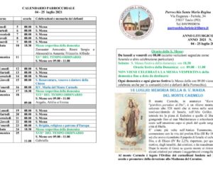 thumbnail of bollettino parrocchiale 04-07-2021 25-07-2021