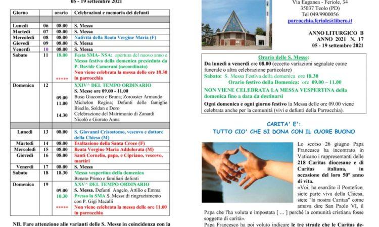 thumbnail of bollettino parrocchiale 05-09-2021 19-09-2021