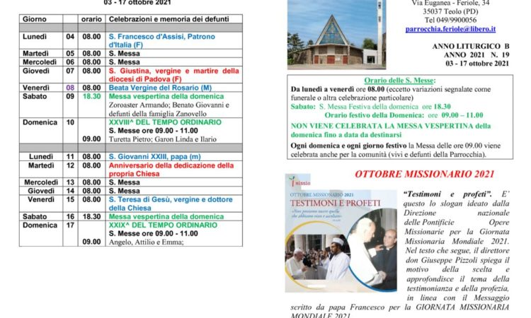 thumbnail of bollettino parrocchiale 03-10-2021 17-10-2021